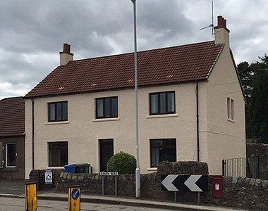 house on street